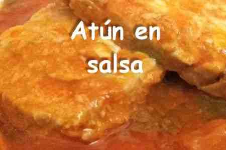 Cómo hacer Atún en salsa 【Cocina fácil】