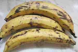Cachapas caseras de plátanos