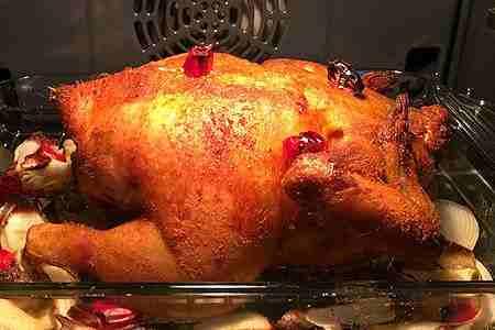 como hacer pollo horneado con salsa de aguacate