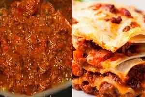salsa bolognesa pasticho
