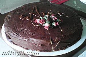 Pastel o Torta de chocolate Tamara