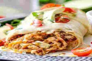 burritos deliciosos - plato mexicano fácil