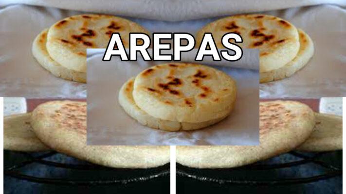 arepas de maiz venezolanas