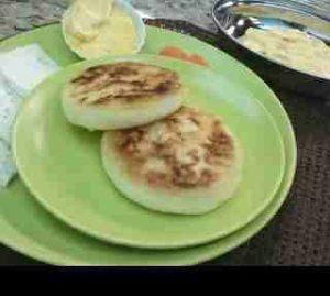 Cómo hacer las Arepas de Trigo Andinas