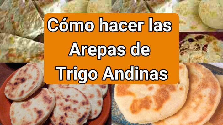 arepas de trigo andinas
