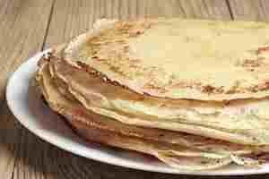 Receta de pancakes light