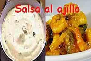 Salsa al Ajillo【Cocina Fácil y Rápida】