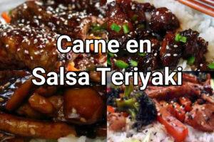 carne en salsa teriyaki