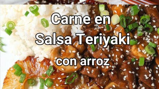 como hacer la carne en salsa teriyaki