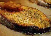 Receta de salmón dulce y delicioso 4