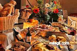 fiestas quesos dips