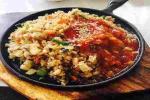 arroz salteado con chorizos