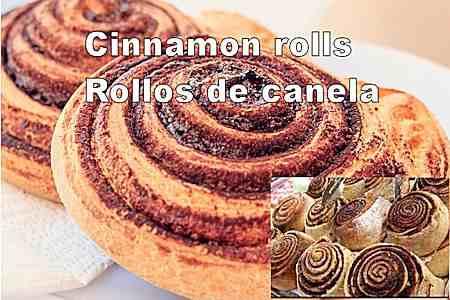 Cinnamon rolls - Rollos de canela 6