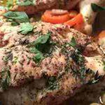 como hacer pollo con romero
