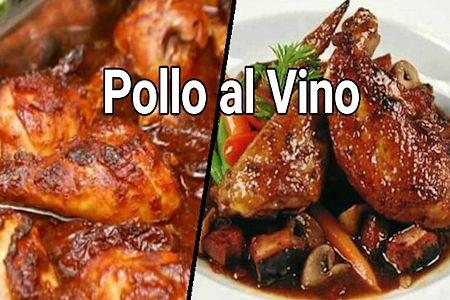receta de pollo al vino