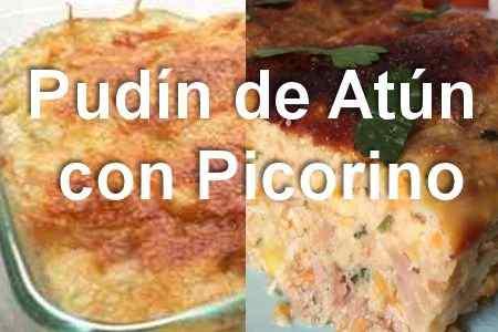 Pudin de Atún con Picorino ¡Receta Fácil – 7 ingredientes!