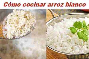 Cómo hacer el arroz blanco  【Tips】