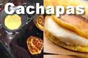 Como hacer las cachapas de maiz