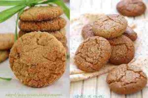 galletas de almendras avena