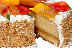 Torta o pastel de nevada