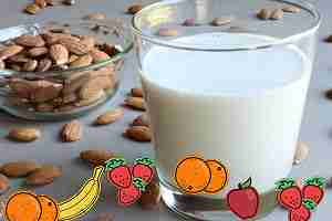 Cómo hacer leche de almendras en casa