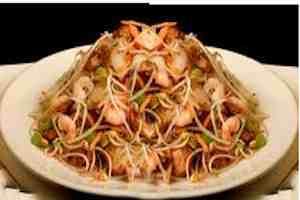 Chop suey con camarones 4