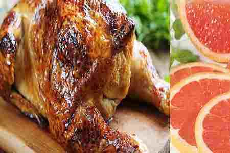Pollo a la toronja 1