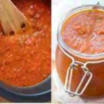 Salsa De Tomate Casera | Receta fácil