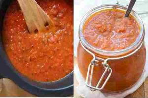 como hacer salsa de tomates en casa