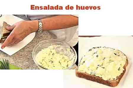 Ensalada de huevos para Sándwiches 【Fácil】