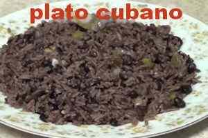 Congri plato típico cubano 11