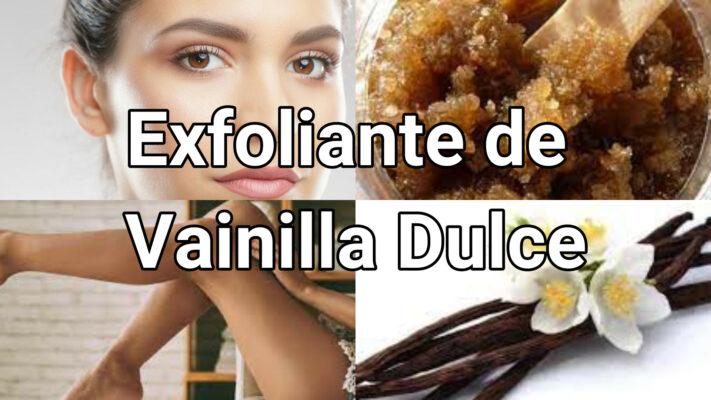Exfoliante de Vainilla Dulce