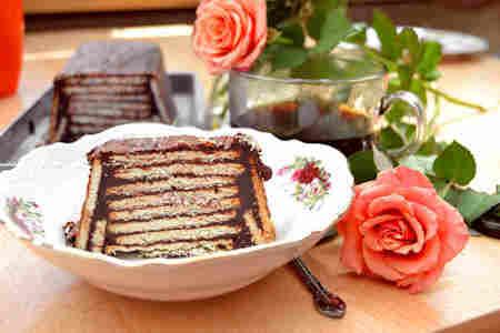 como hacer marquesa de nutella