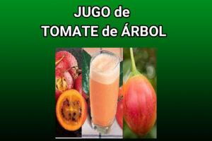 jugo de tomate de árbol
