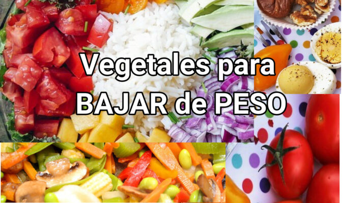 vegetales para adelgazar