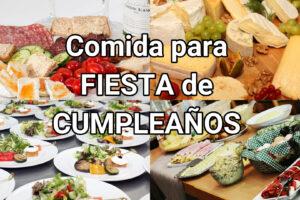 comida para fiesta de cumpleaños económica